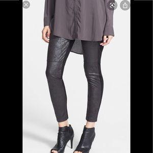 Lysse | Rue Faux Leather & Ponte Knit Legging